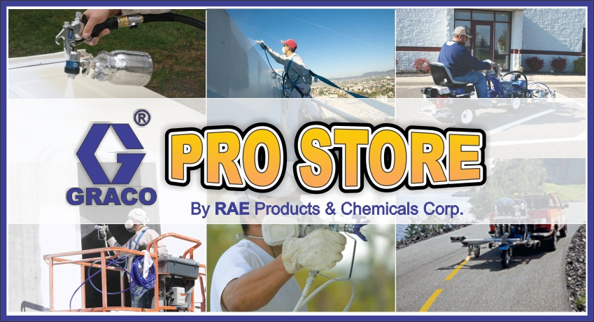 Graco Pro Store by RAE Products offers contractors and professionals the best in finishing equipment - GRACO!