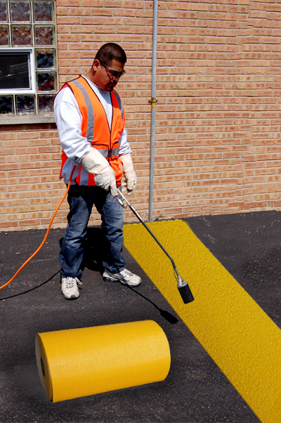 PR-TH-3912 - Yellow Rolls - Preformed Thermoplastic Items - MUTCD/FHWA