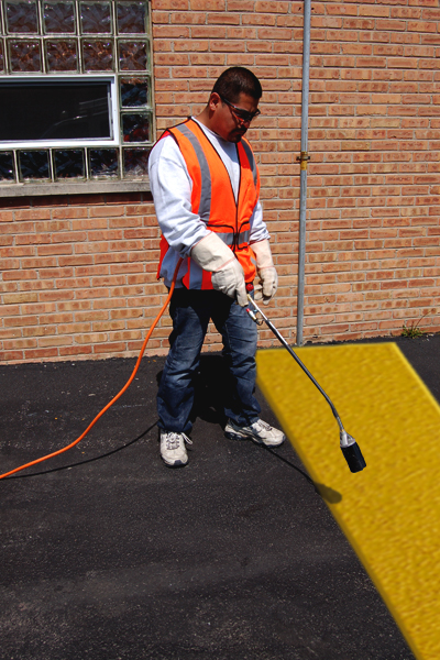 PR-TH-3501 - Yellow Lines - Preformed Thermoplastic Items - MUTCD/FHWA