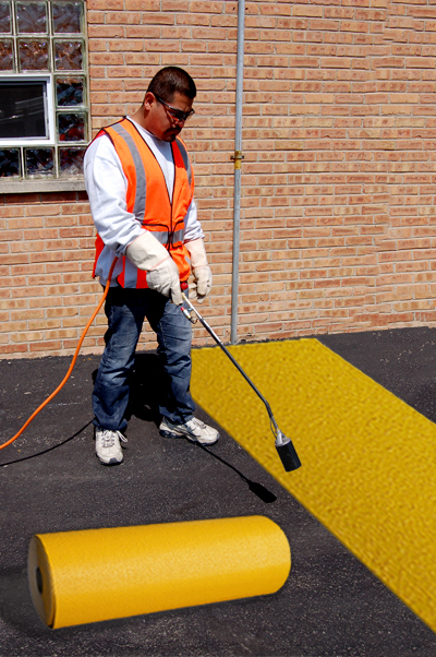 PR-TH-3914 - Yellow Rolls - Preformed Thermoplastic Items - MUTCD/FHWA