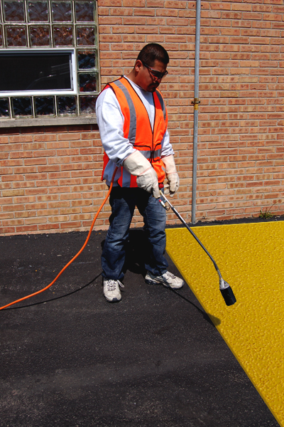 PR-TH-3503 - Yellow Lines - Preformed Thermoplastic Items - MUTCD/FHWA