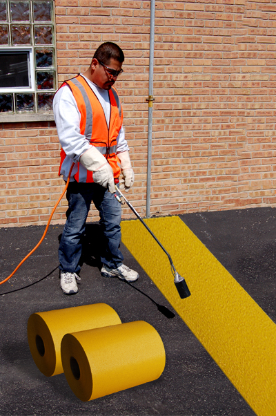 PR-TH-3908 - Yellow Rolls - Preformed Thermoplastic Items - MUTCD/FHWA