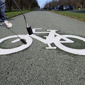 Bicycle Bike Lane - Preformed Thermoplastic Symbol - MUTCD/FHWA