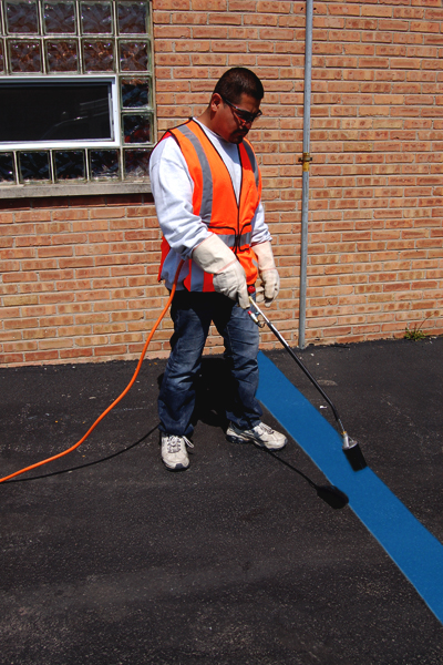 PR-TH-3894 - Blue Lines - Preformed Thermoplastic Items - MUTCD/FHWA