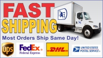 Questions on Shipping? Call us at 1-877-275-7550